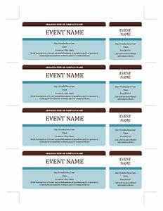 sporting event ticket printers in ohio party invitations With office depot ticket template