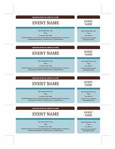 Calendar Raffle Fundraiser Template Event Tickets Templates Office Com Fundraising Ideas