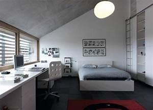 Schreibtisch Im Schlafzimmer : bildgeschichten als dekor in zeitgen ssischen h usern ~ Eleganceandgraceweddings.com Haus und Dekorationen