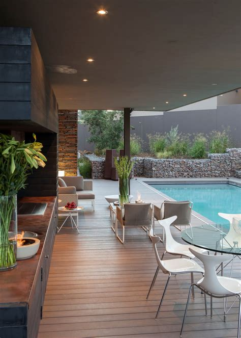 luxurious home designed  outdoor living house duk