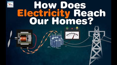 how does electricity reach our homes