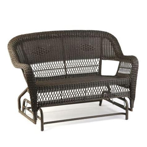 Kirkland Wicker Patio Furniture by Wicker Settee Glider My Hair Decks And Willow Tree