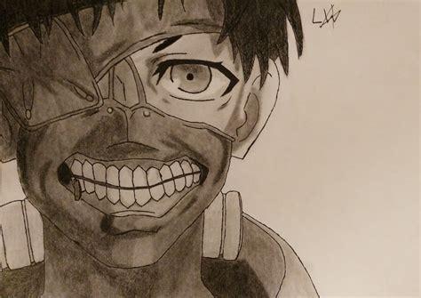 dessin amateur tokyo ghoul ken kaneki galerie