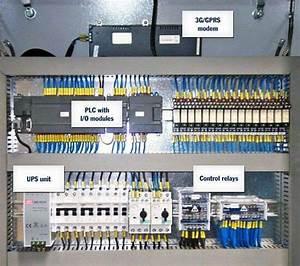 Wiring Diagram Of Plc Panel