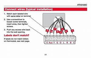 Honeywell Manual Thermostat Installation
