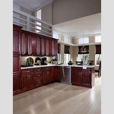 Bjorgsen & Co St James Mahogany Kitchen Cabinets  By