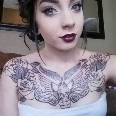 chest tattoos girls designs ideas  meaning tattoos