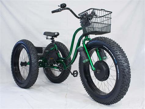 Electric Motor For Tricycle by Electric Tire Trike Tricycle Bicycling