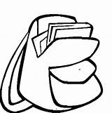 Backpack Coloring Pages Drawing Easy Dora Place Explorer Tocolor Clipartmag Button Using Paper sketch template