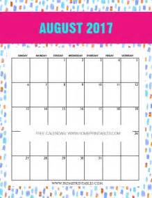 August 2017 Calendar Printable Org