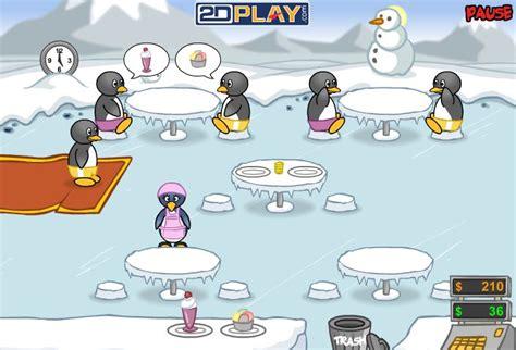 jeux de cuisine pingouin jeu de serveuse pingouin pinguin diner