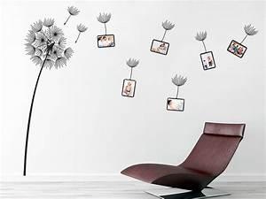 Wandtattoo Mit Bilderrahmen : wandtattoo fotorahmen pusteblume von ~ Bigdaddyawards.com Haus und Dekorationen