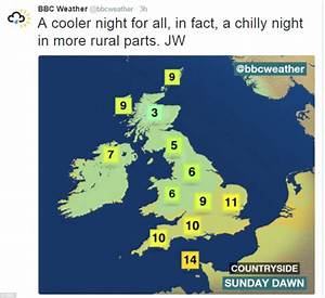 UK weather sees rain and weather warnings next week ...