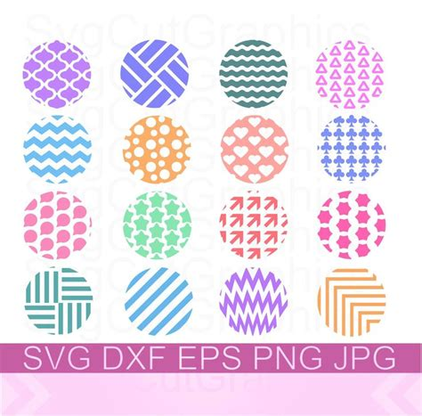 All contents are released under creative commons cc0. Keychain Round Patterns SVG, Keyring Patterns Svg ...