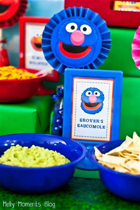 Grovers Guacamole Food Table Tent  Ee  Card Ee   For A Sesame