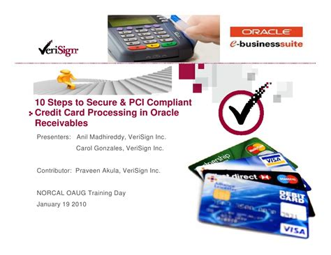 The standard aims to protect data during and after a financial transaction. 10 Steps To Secure and PCI Compliant Credit Card ...