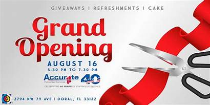 Opening Grand Banner Accurate Pm Personnel