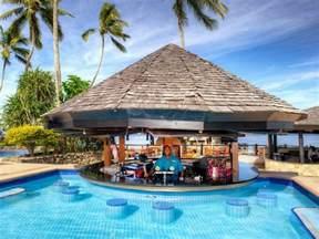Resort Pools with Swim Up Bars
