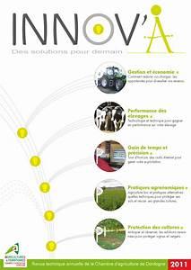 innov39a la revue technique de la chambre d39agriculture de With chambre d agriculture de la dordogne