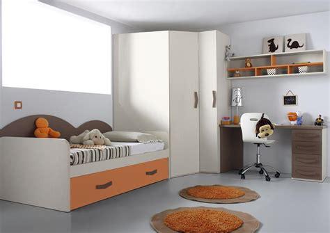 acheter votre lit gigogne avec bureau et armoire d 39 angle