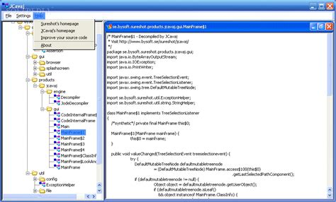 Decompile Java