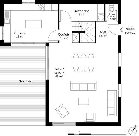 plan maison 1 chambre chambre et dressing plan 20170808031909 tiawuk com