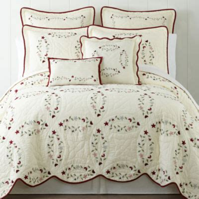 home expressions chest embroidered quilt jcpenney