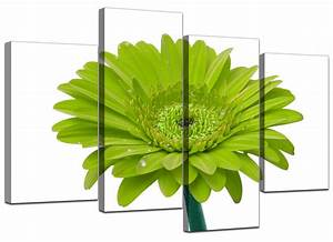 Photo Collection Neon Green Flowers Wallpaper