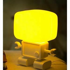 Lampe Chevet Murale : son robots intelligents et de commande de lumi re lampe ~ Premium-room.com Idées de Décoration