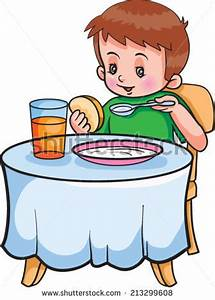 Cereal clipart kid breakfast - Pencil and in color cereal ...