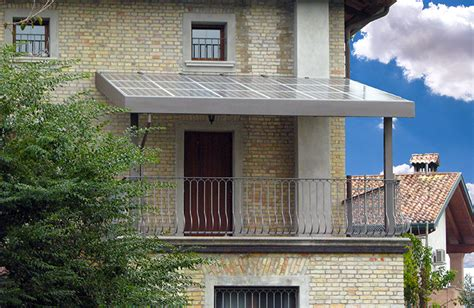 tettoia per terrazzo sclauzero tettoia fotovoltaica per terrazzo