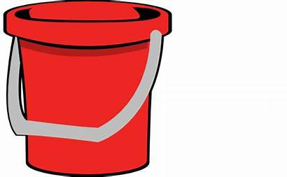 Bucket Clipart Clip Cliparts Pail Buckets Vector