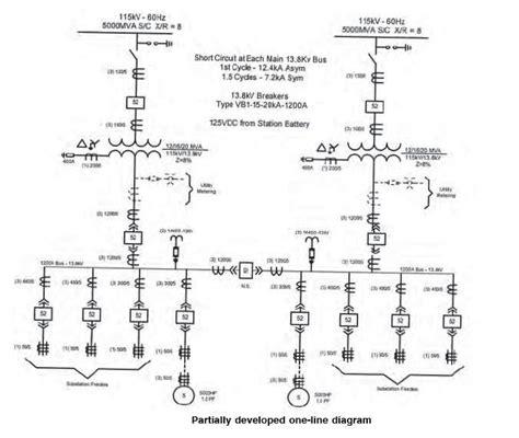 Single Line Diagram Autocad Lt by Electrical Single Line Diagram Part Two Electrical Knowhow