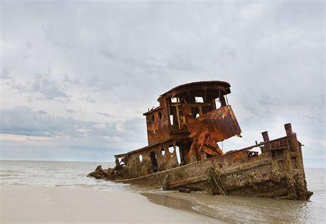Tugboat Ga by Shipwrecked Tugboat Little St Simons Island Georgia