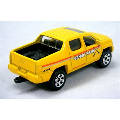 matchbox honda matchbox honda ridgeline lifeguard pickup truck global