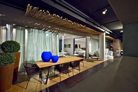 penthouse furniture showroom  studio yaron tal tel aviv