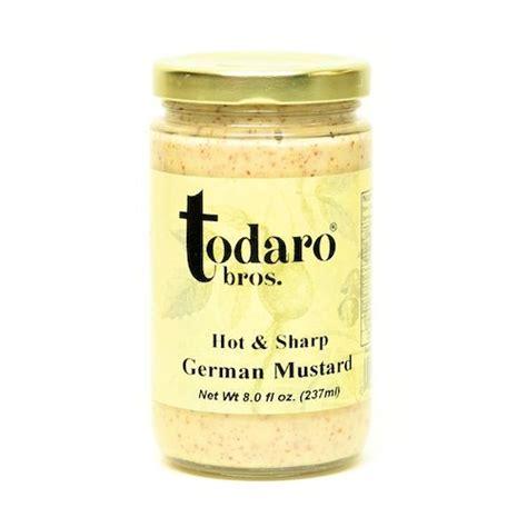 german mustard condiments todaro signatures todaro bros