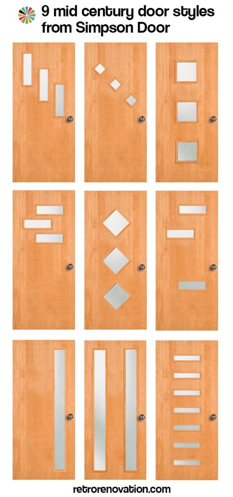 ranch style home interior design doors galore 8 places to find midcentury modern entry