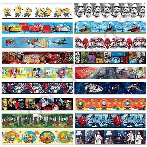 boys character  adhesive wallpaper borders star wars