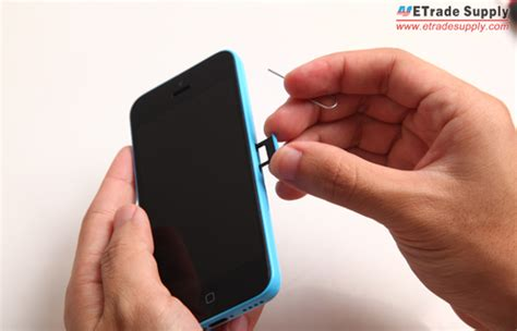how to take out sim card from iphone 5 how to disassemble the iphone 5c for screen parts repair