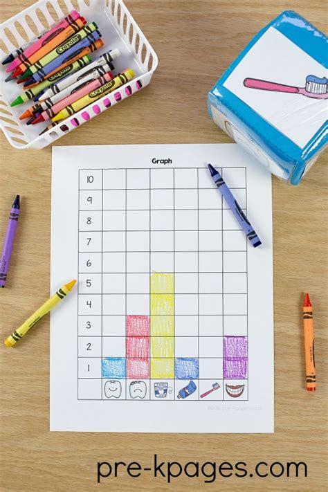 dental health theme activities for preschool 468 | Dental Health Graphing Activity