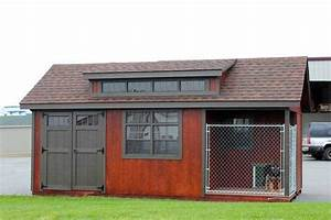 11 best dog kennels images on pinterest dog kennels With storage shed with dog kennel