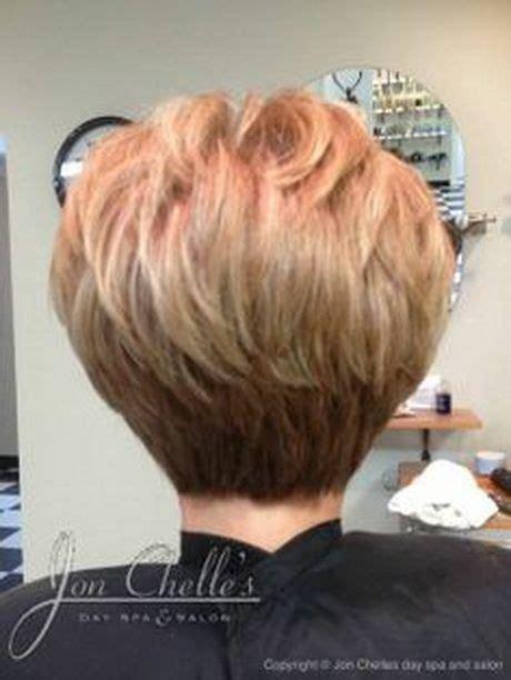 stacked short hair cuts short haircuts  view stacked