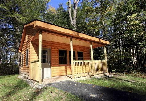 campers cabins replacing yurts  swartswood  state