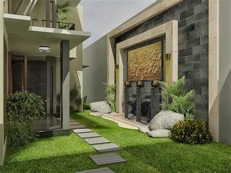 natural  minimalist backyard garden home inspirations