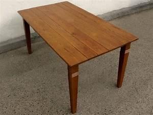 Esstisch tisch massivholz eiche 160 x 90 cm quadratische for Tisch füße