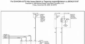 1997 Buick Park Avenue System Wiring Diagrams Body Computer Circuits Part 2