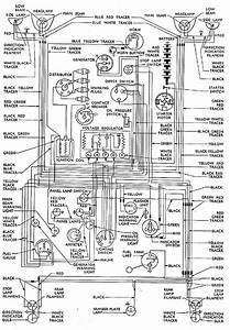 141  Wiring Diagram Thames 300e Van After Febuary 1955