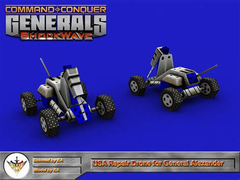 shockwave generals zero hour mod general mods command conquer drone repair alexander db screenshot gamewatcher
