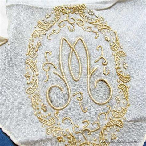 monogram m handkerchiefs initial handkerchief monogrammed m vintage embroidered handkerchief trailing